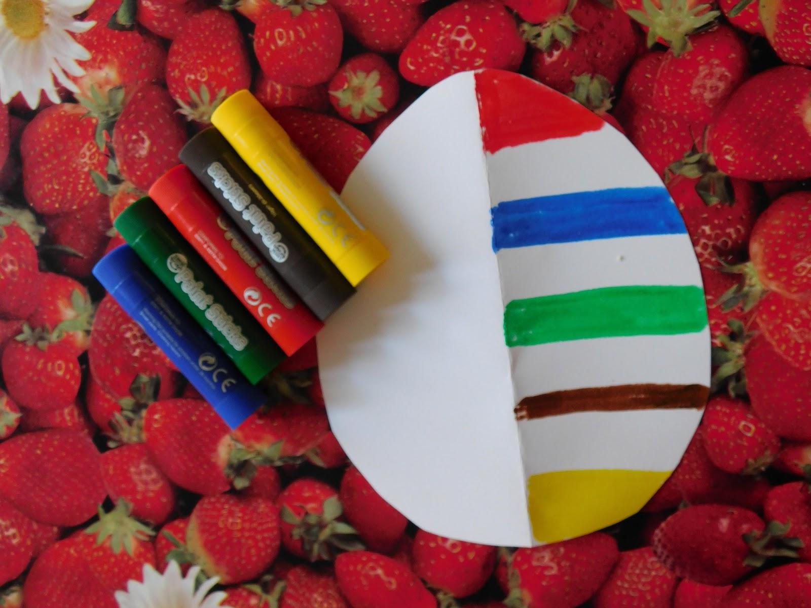 Easter Egg Symmetry Painting