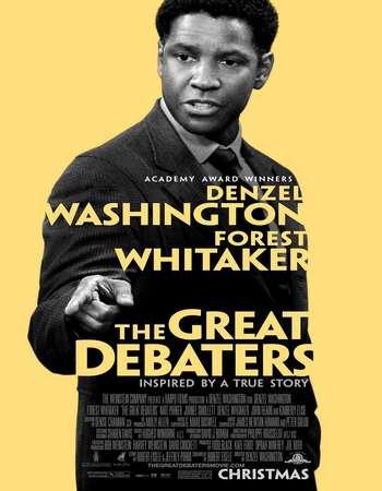 Poster Of The Great Debaters 2007 English 350MB BRRip 480p ESubs Free Download Watch Online Worldfree4u
