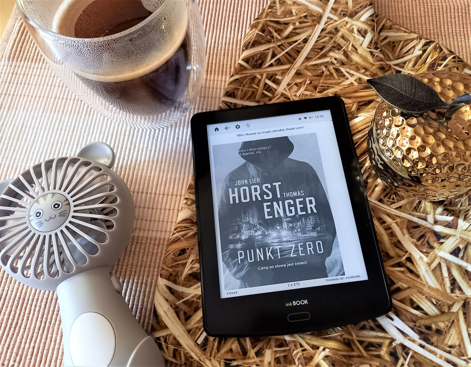"""Mordercze odliczanie w Oslo, czyli recenzja książki """"Punkt zero"""" Jørna Liera Horsta i Thomasa Engera"""