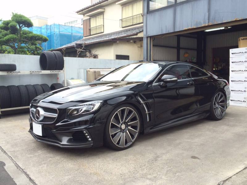 Mercedes Benz C217 S Class Coupe By Wald Black Bison Benztuning