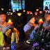 """Chùa Đình Quán: Ấm áp đêm hoa đăng với chủ đề """"Con về bên Phật"""""""
