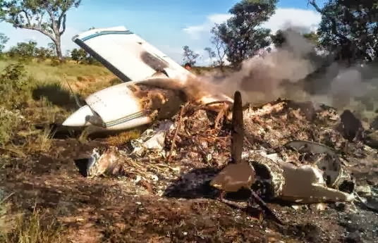 Tercera avioneta inmovilizada por la Aviacion Militar Bolivariana