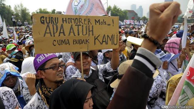 Perpres PPPK Sudah Di Tanda Tangan Presiden, Honorer K2 Berbahagia