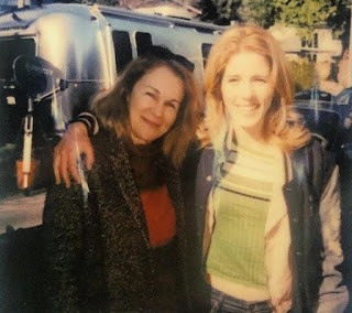 Emily Bett Rickards with her mom Dr. Diane Greig