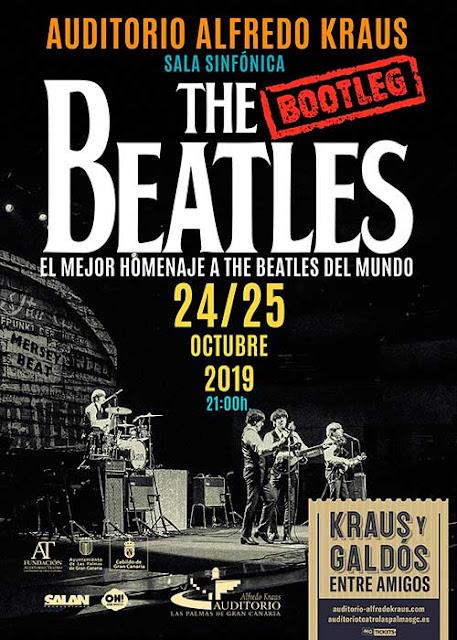 bootleng Beatles. Tributo a los Beatles en el Auditorio Alfredo Kraus, Las Palmas de Gran Canaria