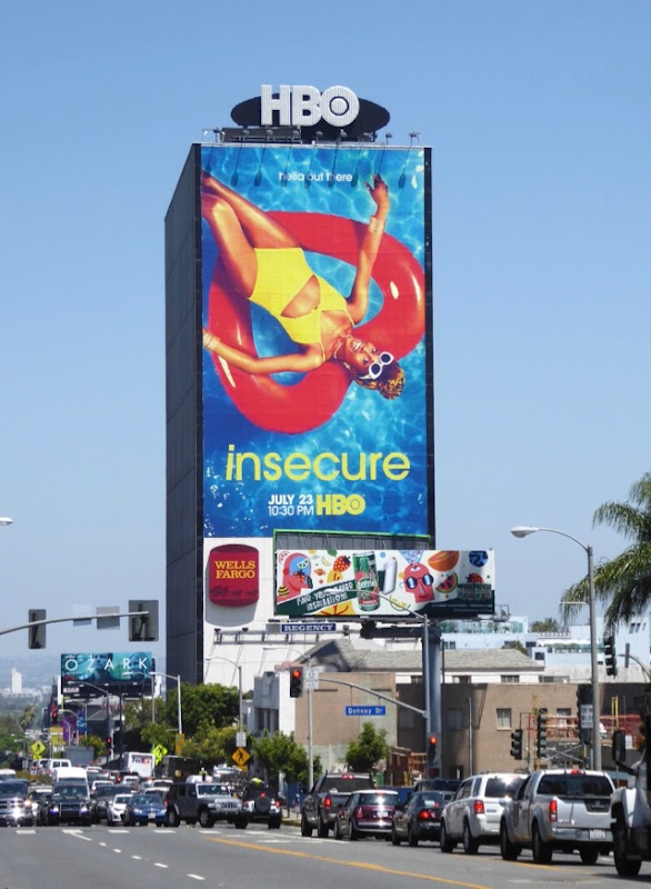 Giant Insecure season 2 billboard
