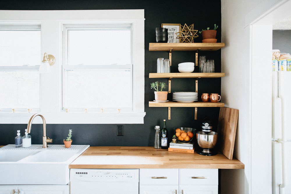 Wood Wall Cabinets Kitchen