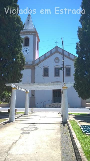 Igreja Matriz São José, Taquari, RS, construída em 1768