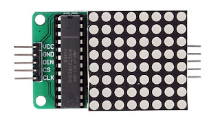 módulo max7219 matriz de leds 8x8