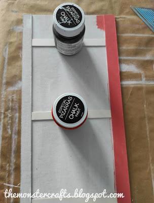Gluing the slats