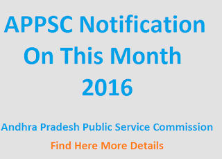 APPSC Group 2, 3 2016, Notification, Application form, News Updates