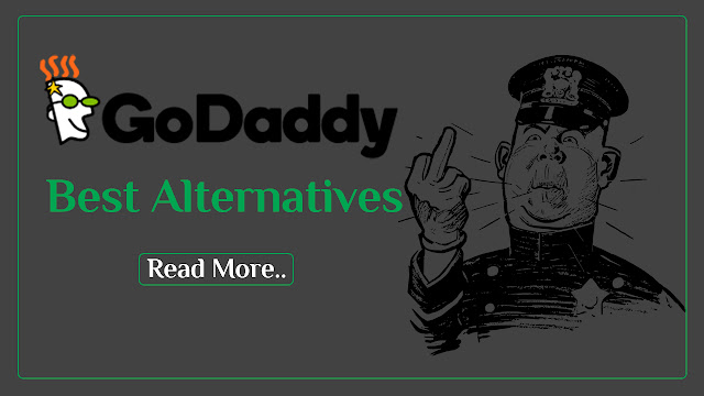 Best 3 Godaddy Alternatives Competitors for Cheapest Domain Hosting, Best 3 Godaddy Alternatives,