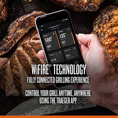 Traeger Wifire technology