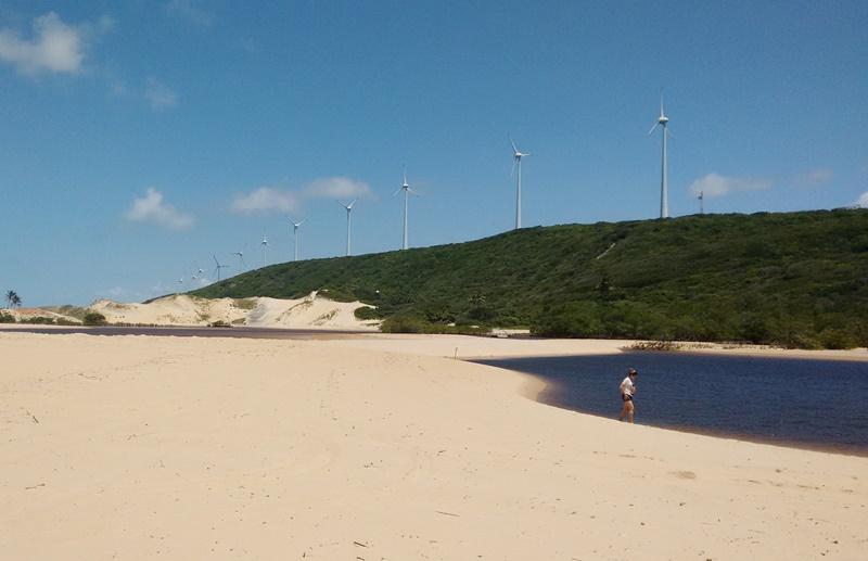 Praia de Sagi Baía Formosa