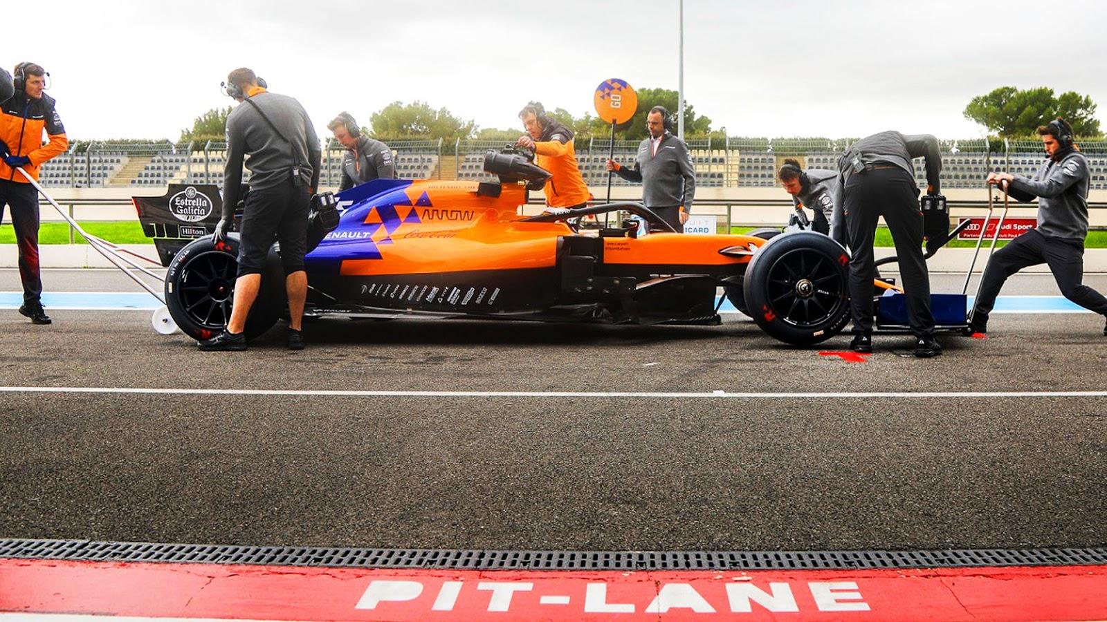 McLaren opony 2021