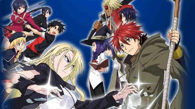 UQ Holder: Mahou Sensei Negima 2 - Anime Mirip Black Clover [Rekomendasi Terbaik]