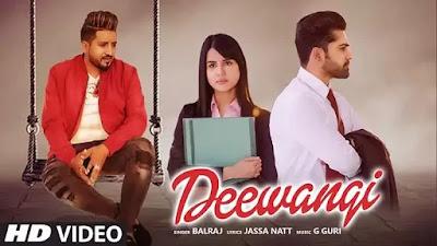 Deewangi Song Lyrics - Balraj