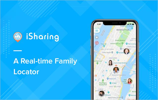 iSharing – GPS Location Tracker for Family