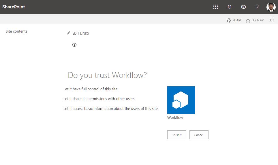 sharepoint  workflow  app