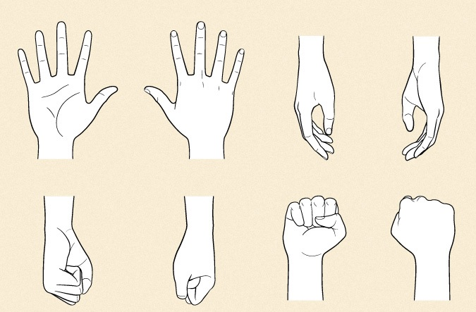 Cara Menggambar Tangan Pada Anime Langkah Demi Langkah - Anidraw