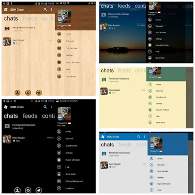 BBM Mod WP v3.2.5.12 (Black, Wood, Transparant) - CLONE