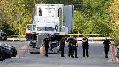 9 Illegal Immigrants Found Dead In Truck Outside A Walmart, Texas.