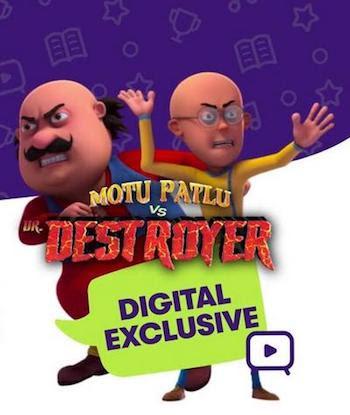 Motu Patlu vs Dr Destroyer 2021 Hindi 480p 250MB HDRip MKV