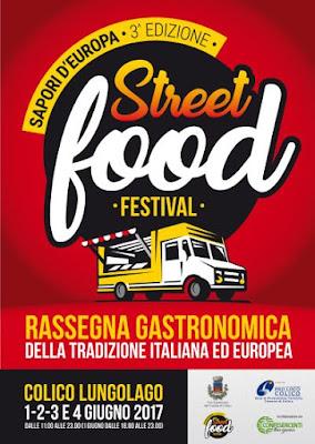 Street Food Festival 1-2-3-4 Giugno Colico (LC)
