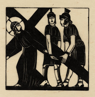 Eric Gill, Jesus Recieves His Cross, 1917, photo (C) Tate