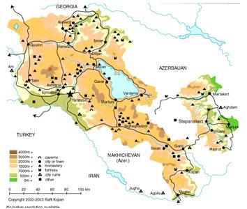 Armenia Tourism Blog: Armenian Maps