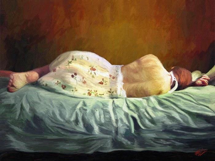 """Цифровые """"масляные"""" картины. James Shepherd"""