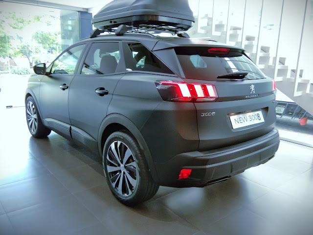 roof box Peugeot 3008
