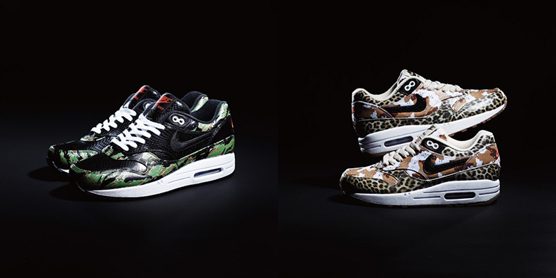 separation shoes 17dc3 3c4a3 Nike Air Max 1 Animal Camo Pack releases January 2013