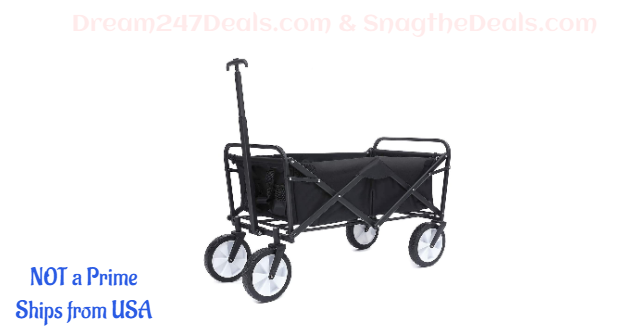 TOOCA Collapsible Wagon Folding Outdoor Utility Cart 25% OFF