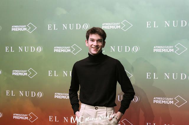 Jorge Motos en la presentación de 'El Nudo'