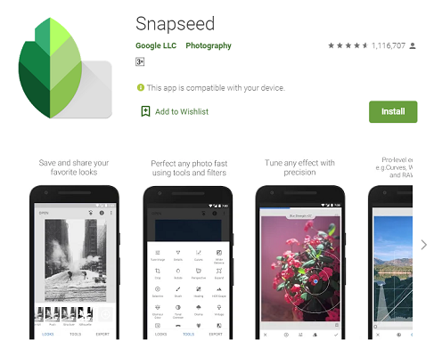 Snapseed, Photography Apps, Mobile Apps
