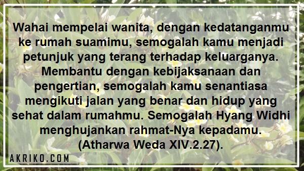 Istri menurut kitab suci wedha