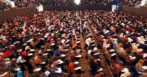 Saat Ujian Tes CPNS 2018!