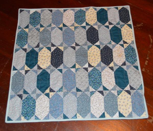 Scrappy Baby Quilt - Quiltville Lozenges