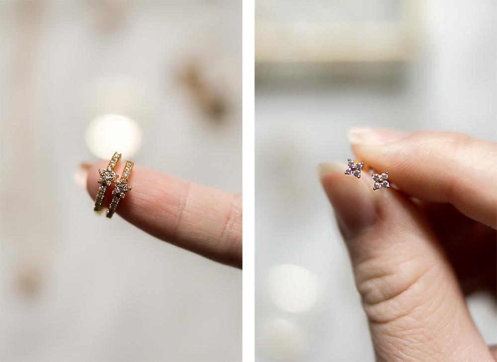 Dainty-diamond-stud-earrings