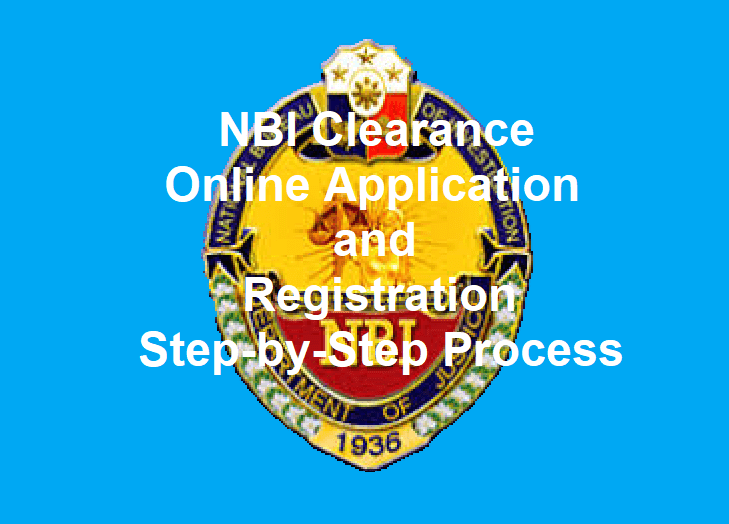 nbi clearance online application and registration easy to follow