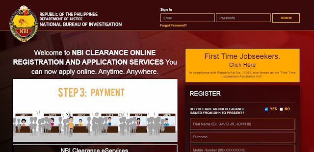 2020 NBI Clearance Renewal