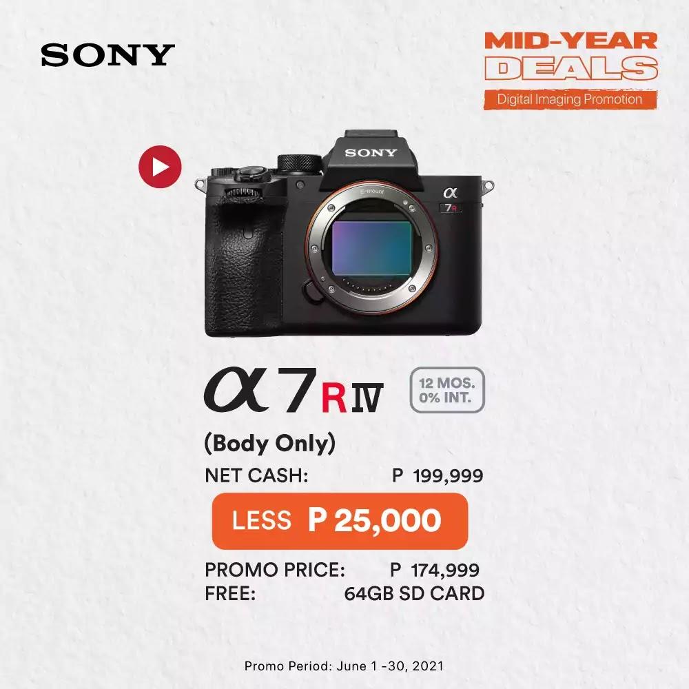 Sony A7RIV Promo