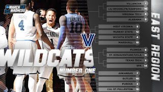 2018 NCAA Tournament March Madness East Region