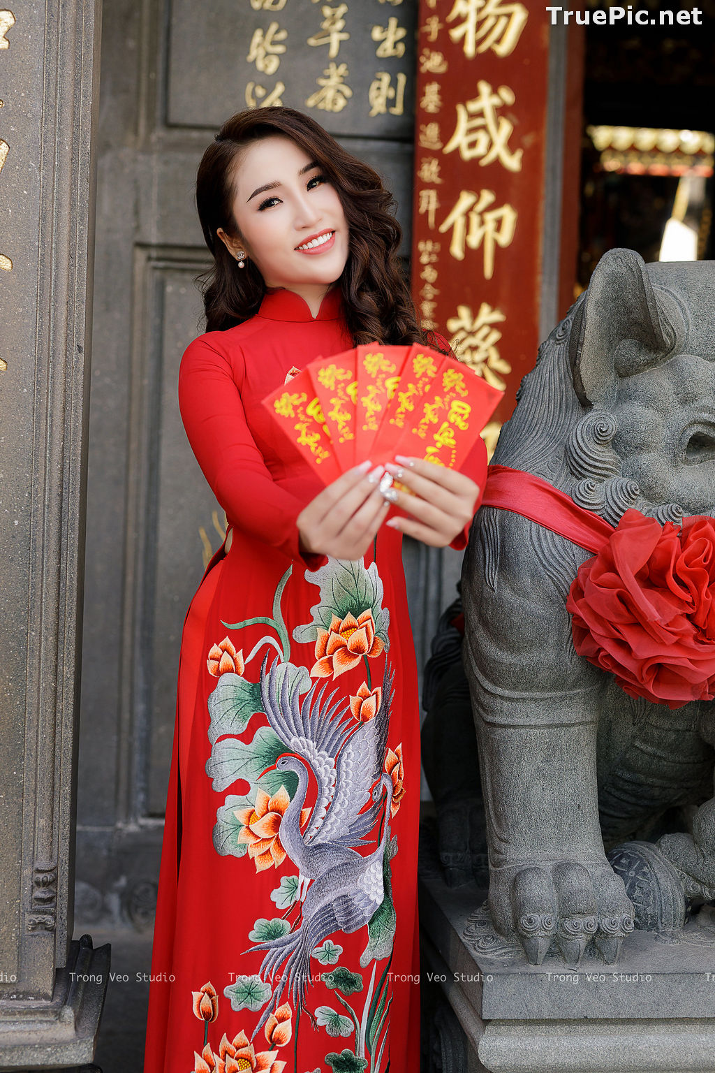 Image The Beauty of Vietnamese Girls with Traditional Dress (Ao Dai) #4 - TruePic.net - Picture-10