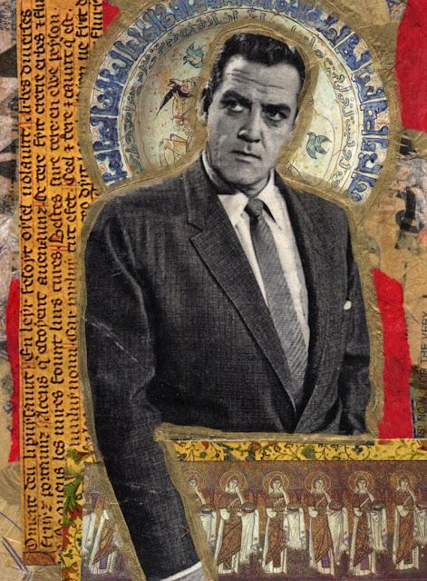 Celebrity Icon collage -- Perry Mason