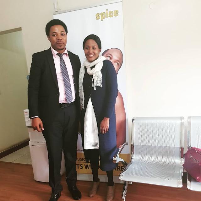 VIONGOZI TAMUFO WAKUTANA NA MAOFISA WA KAMPUNI YA DIGISPICE NAIROBI NCHINI KENYA