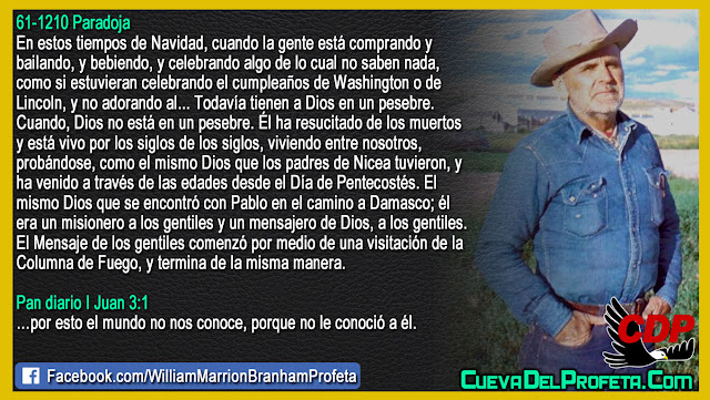 La Venida de la Columna de Fuego - William Branham en Español