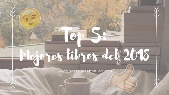 TOP 5 | Mejores libros del 2018