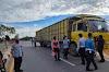 Dishub Rohil Tilang Puluhan Mobil Saat Operasi Odol